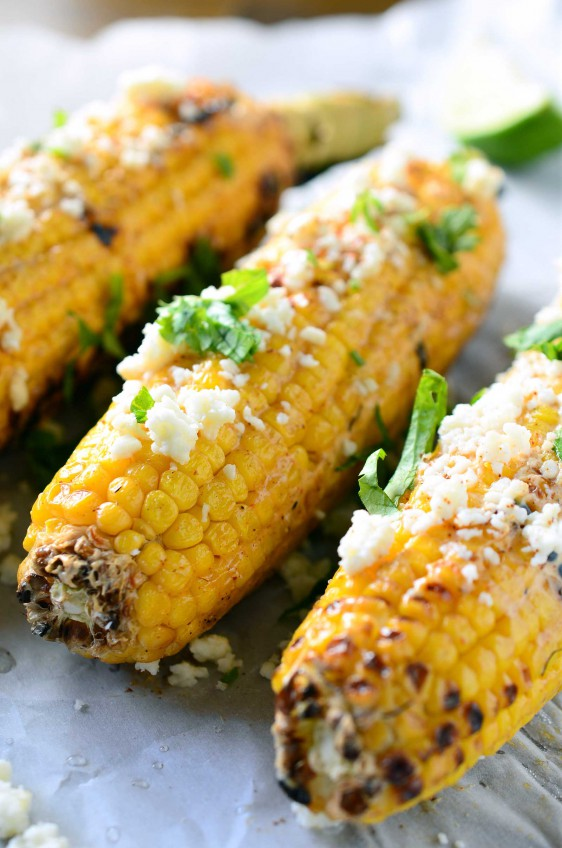 Cheesy Mexican Street Corn