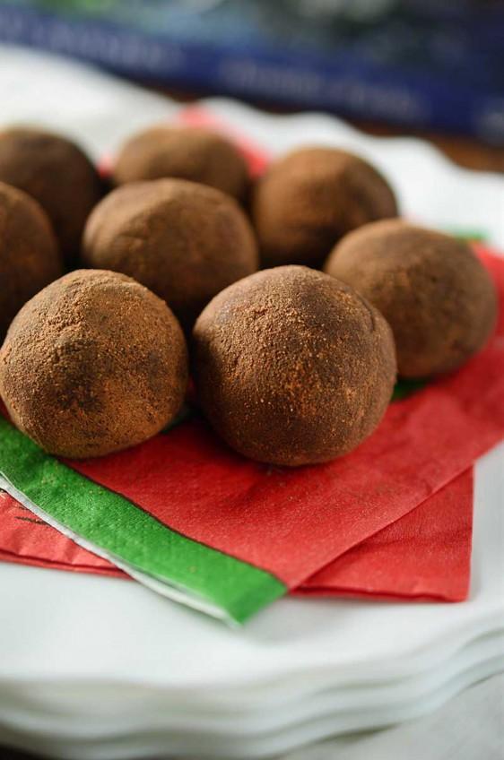 Chocolate Malt Truffles