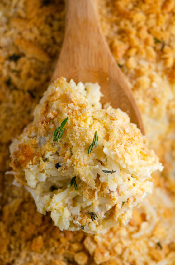 Easy Cheesy Hashbrown Casserole
