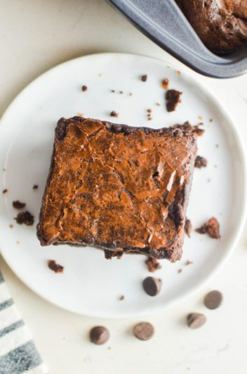 The BEST Fudgy Brownie Recipe