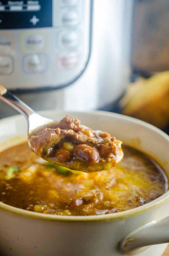 Instant Pot {Pressure Cooker} Chili