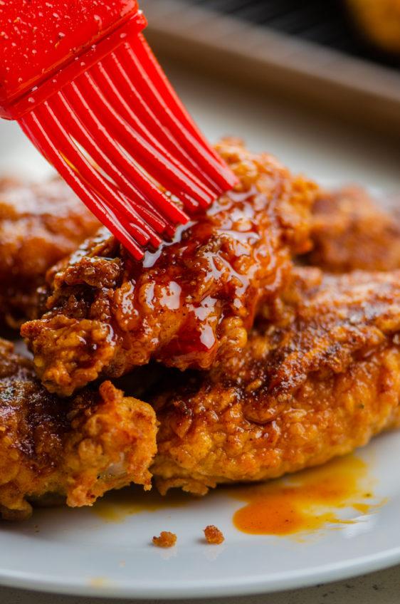 Nashville Hot Chicken Wings
