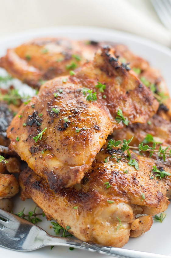 Smoky and Spicy Paprika Grilled Chicken