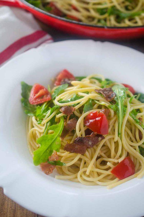 Ranch BLT Spaghetti
