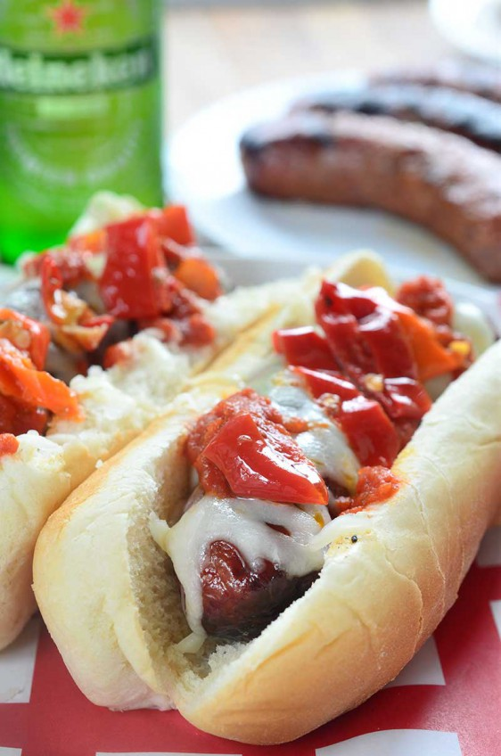 Spicy Italian Sausage Dogs