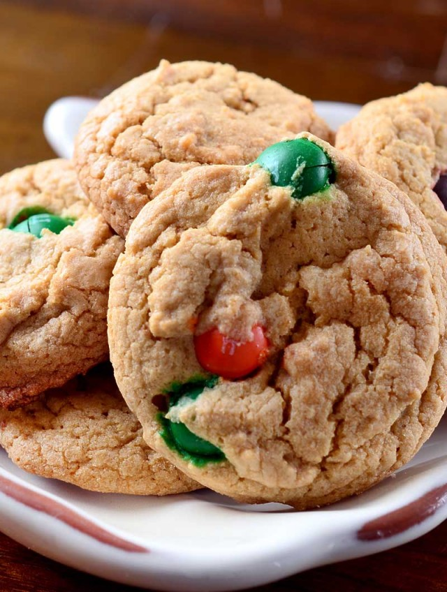 Biscoff and Pumpkin Spice M&M Cookies
