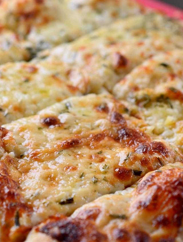 Cheesy Rosemary Breadsticks