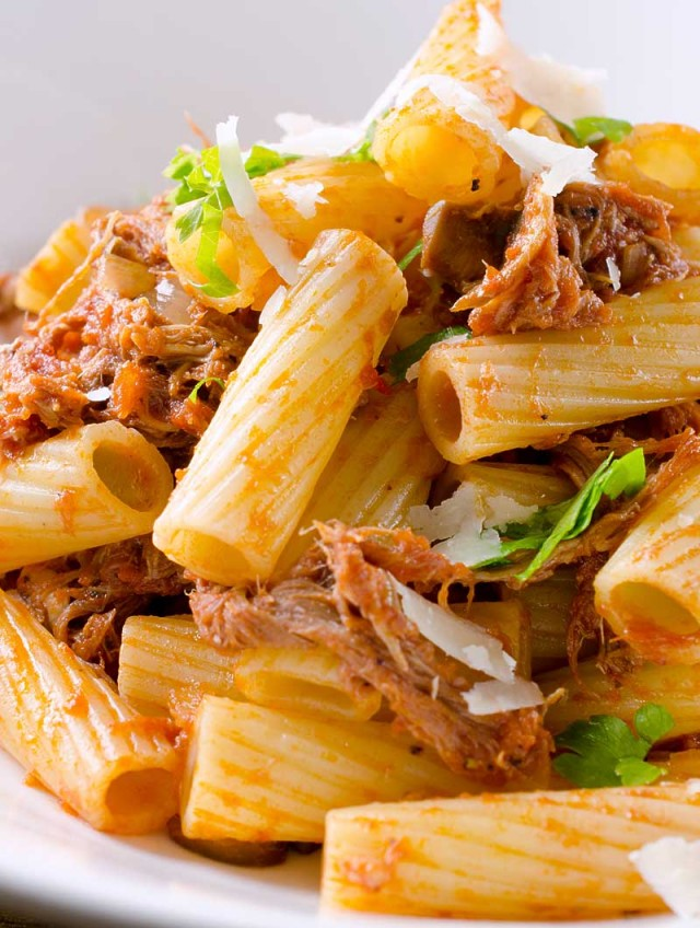 Pulled Pork Rigatoni