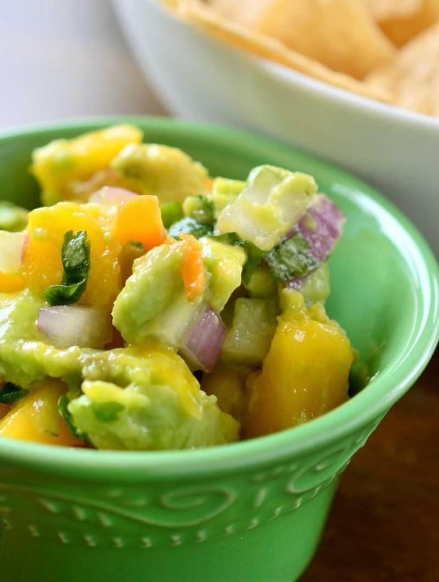 Roasted Habanero and Mango Salsa