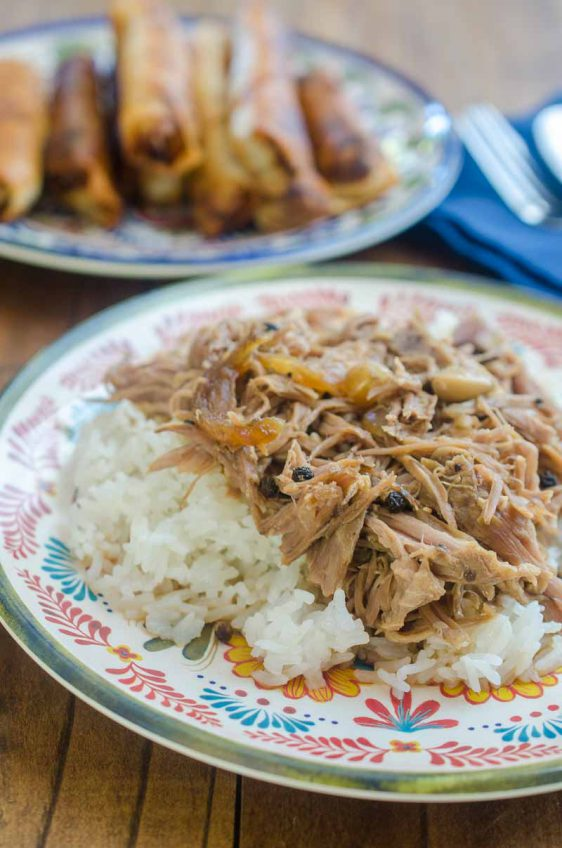 Slow Cooker Pork Adobo