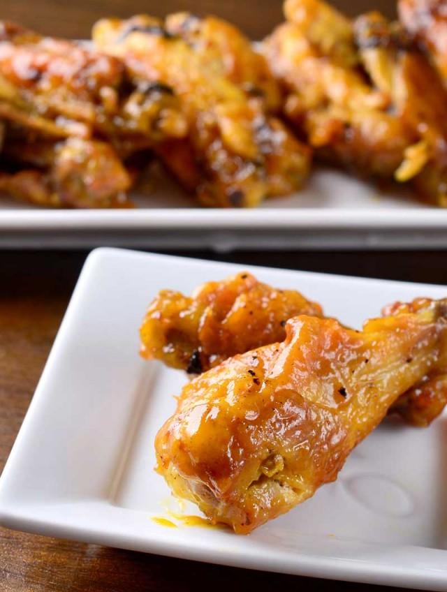 Spicy Honey Mustard Chicken Wings