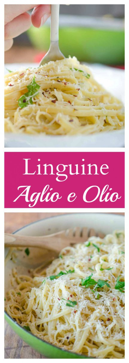 Classic Aglio e Olio pasta is one of my favorites and a favorite of all garlic lovers!