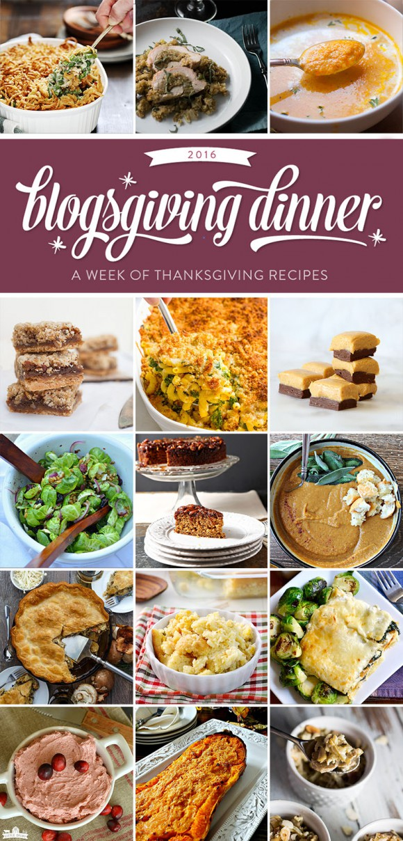 A week of Thanksgiving recipes!