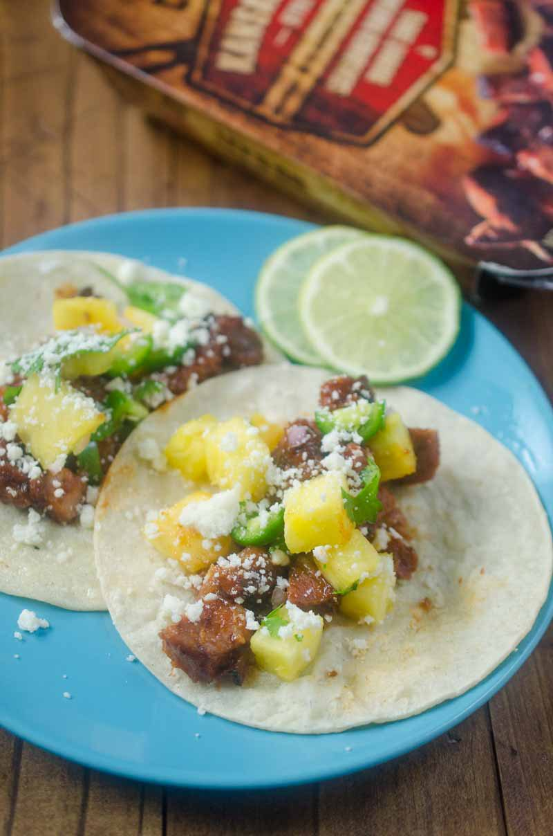 Give Taco Tuesday a tropical BBQ twist by making BBQ Brisket Tacos with Pineapple Salsa. They couldn't be easier to make and will be a hit with the whole family.