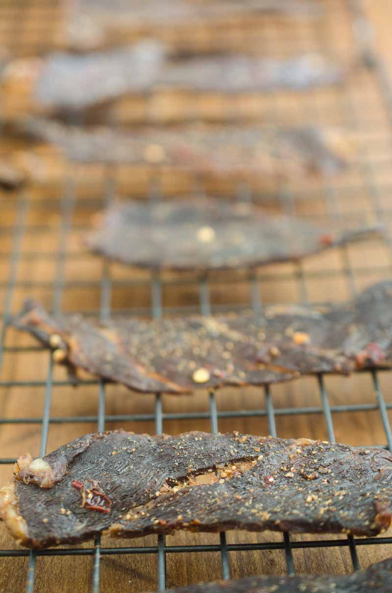 Spicy Beef Jerky is our new favorite snack! You can make it at home, without a dehydrator!