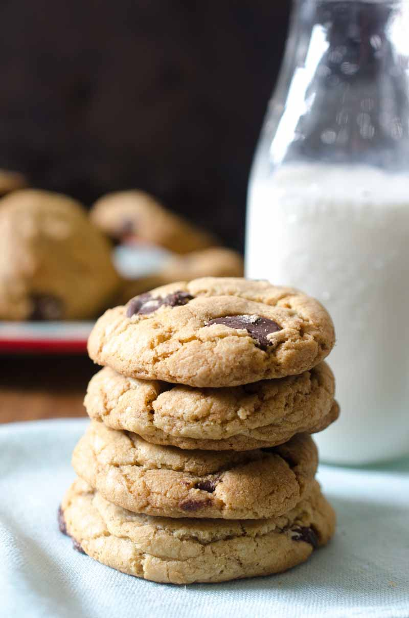 Biscoff and Dark Chocolate Chip Cookies
