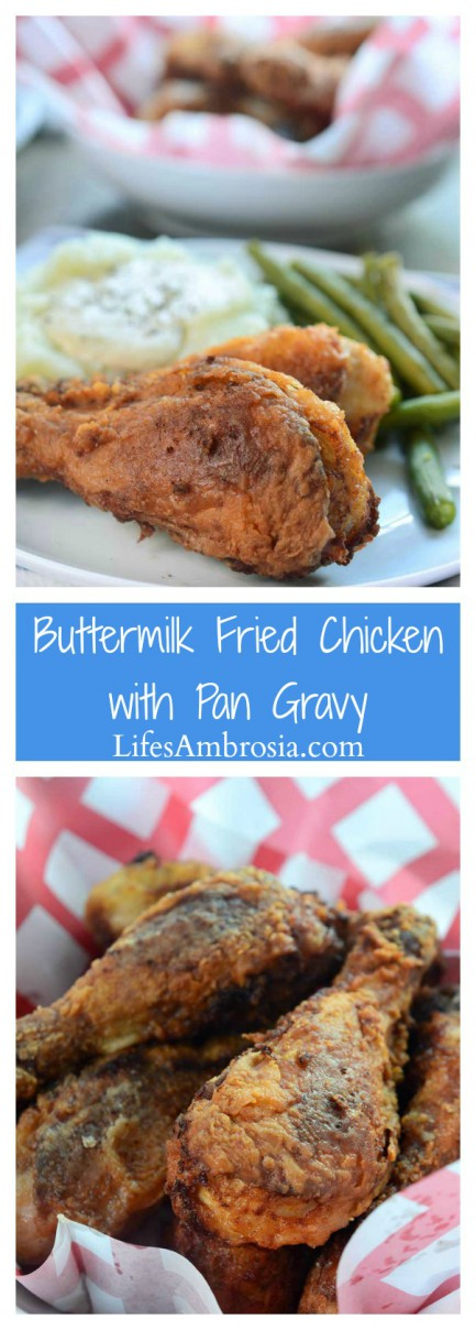 southern classic this crispy, succulent buttermilk fried chicken is ...