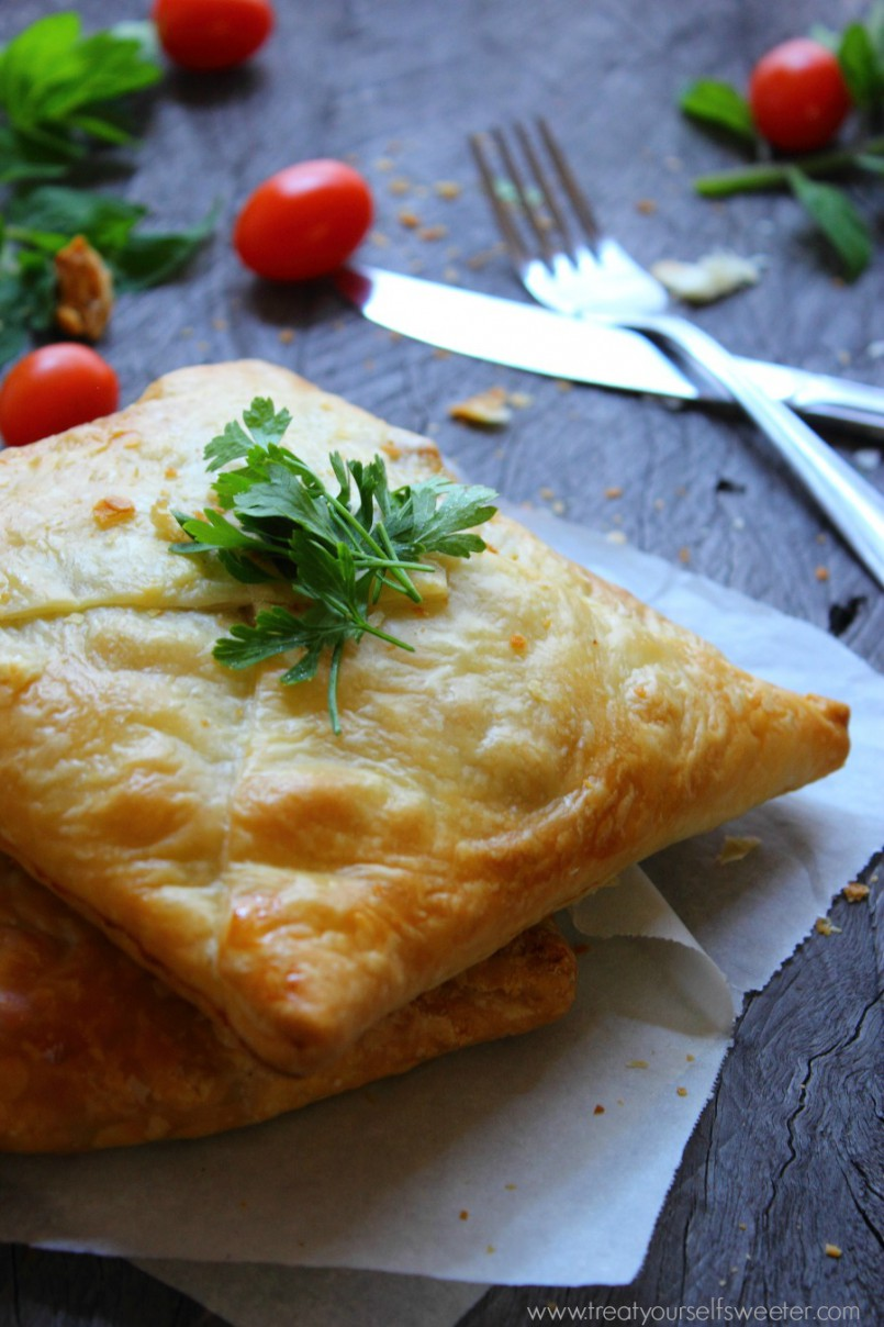 Caramelised Onion Pumpkin Pastry
