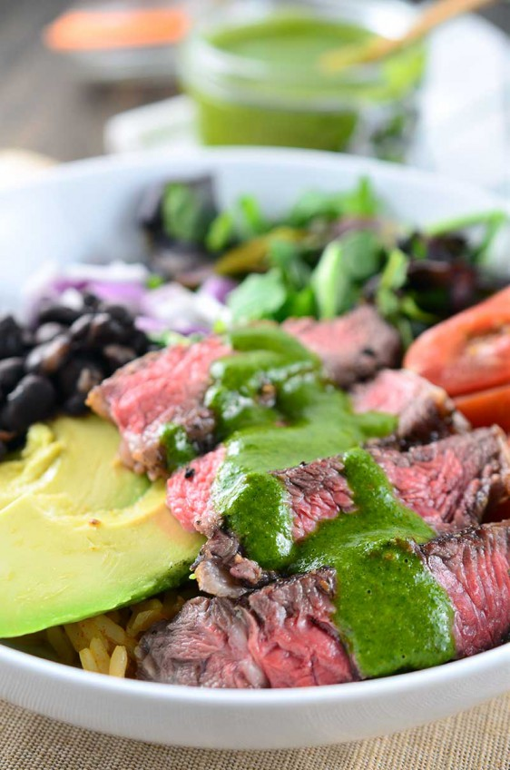 Chimichurri Steak Bowl