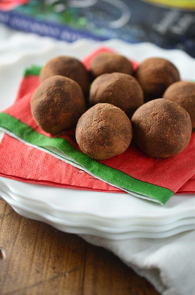 Chocolate Malt Truffles