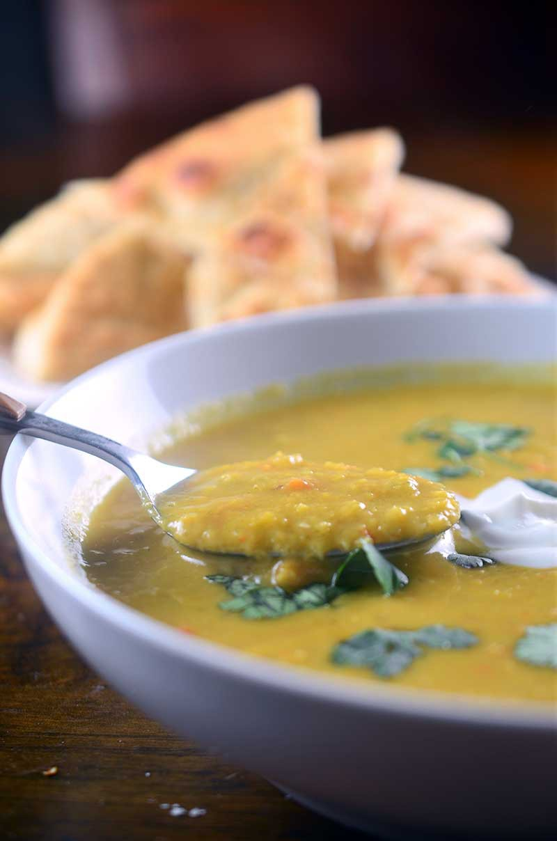 ... Coconut Curry Lentil Soup. It's creamy, hearty, tummy warming and