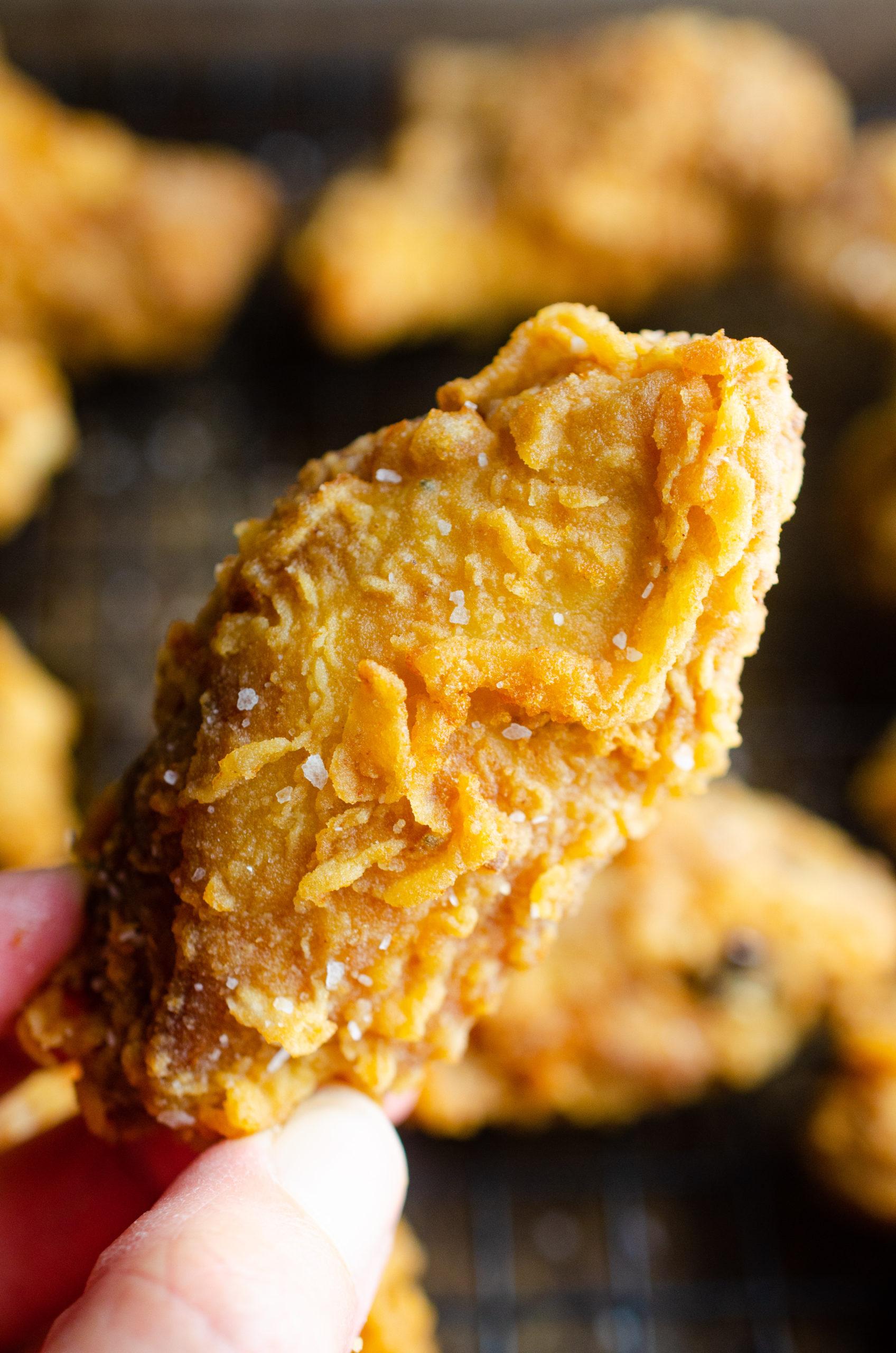 Chicken wings seasoned with blackening seasoning.