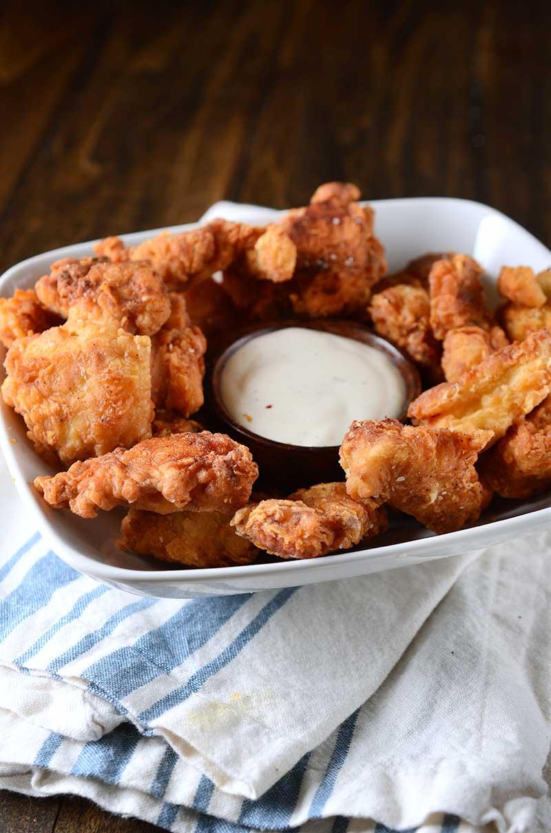 Garlic Chicken Nuggets