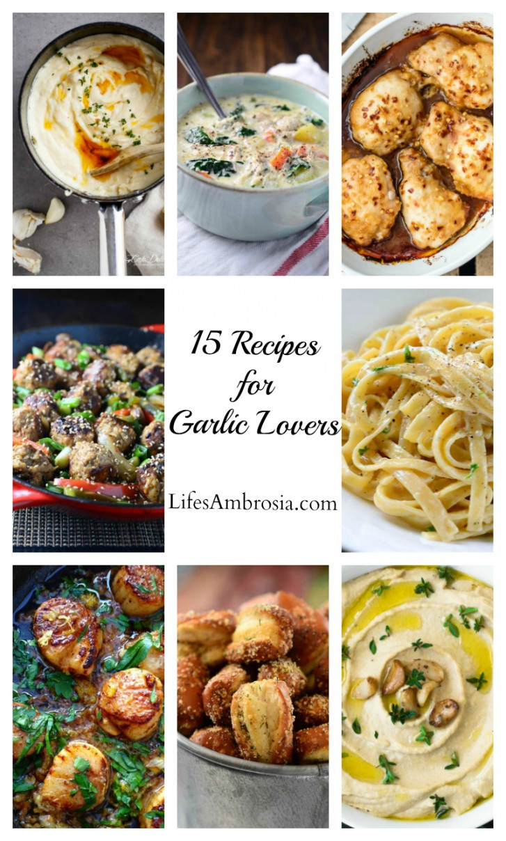 15 Recipes for Garlic Lovers