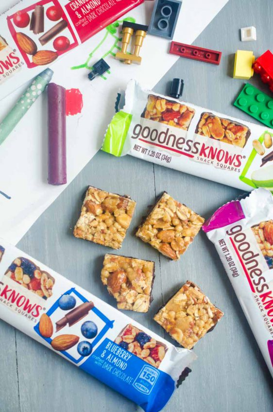 Snacking with goodnessKNOWS