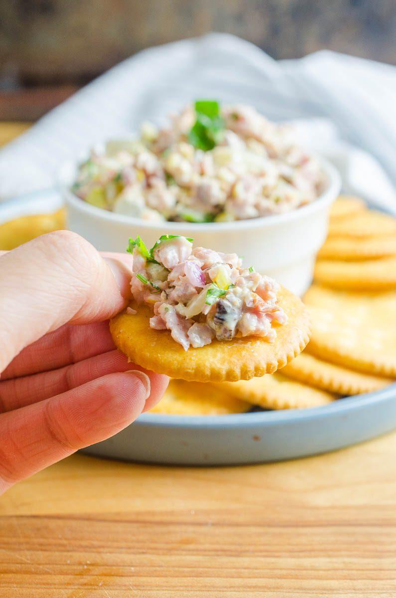 Ham Salad The Best Ham Salad Recipe Life S Ambrosia