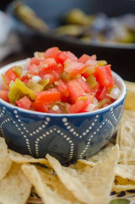 Hatch Chile Salsa Fresca