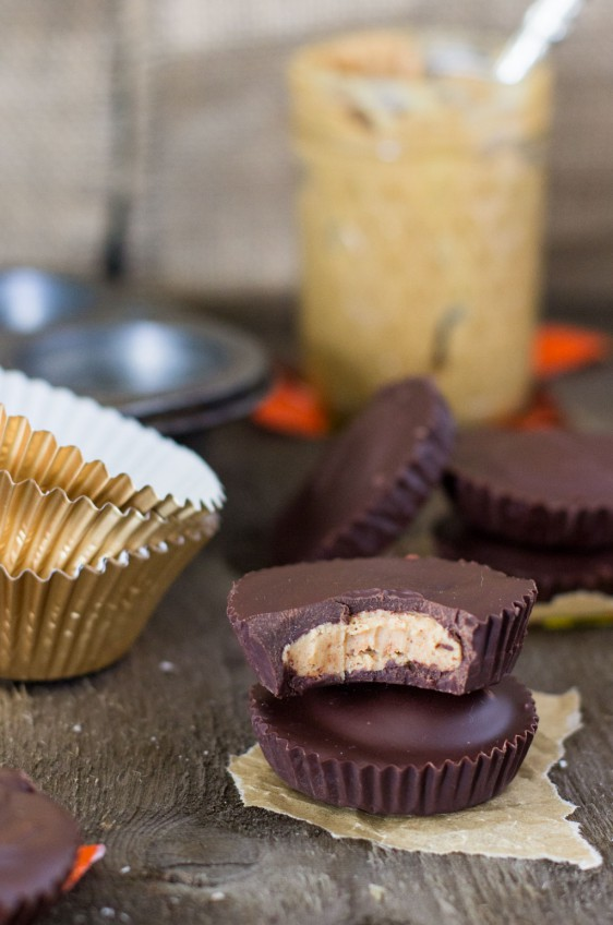 Homemade Reese's Cups - Life's Ambrosia