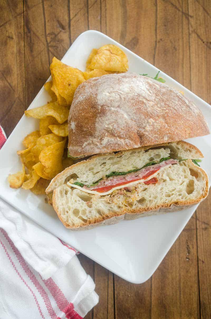 Italian Pressed Sandwiches