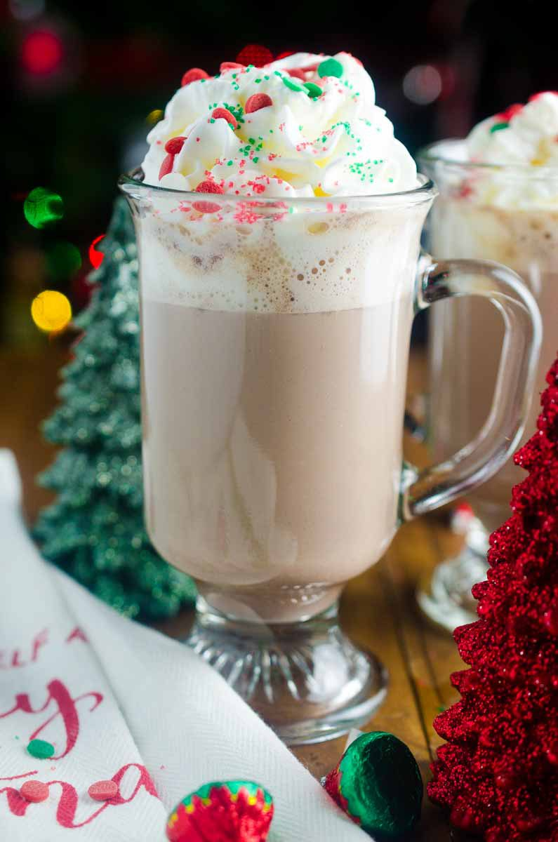 Peppermint Patty Drink A Christmas Cocktail Recipe Life S Ambrosia