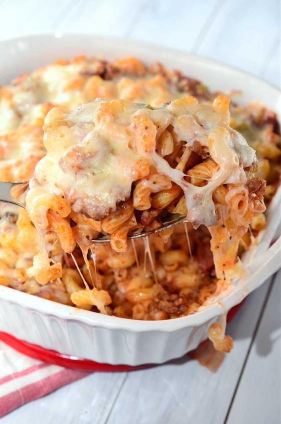 Recipe for Pizza Casserole - Life's Ambrosia Life's Ambrosia