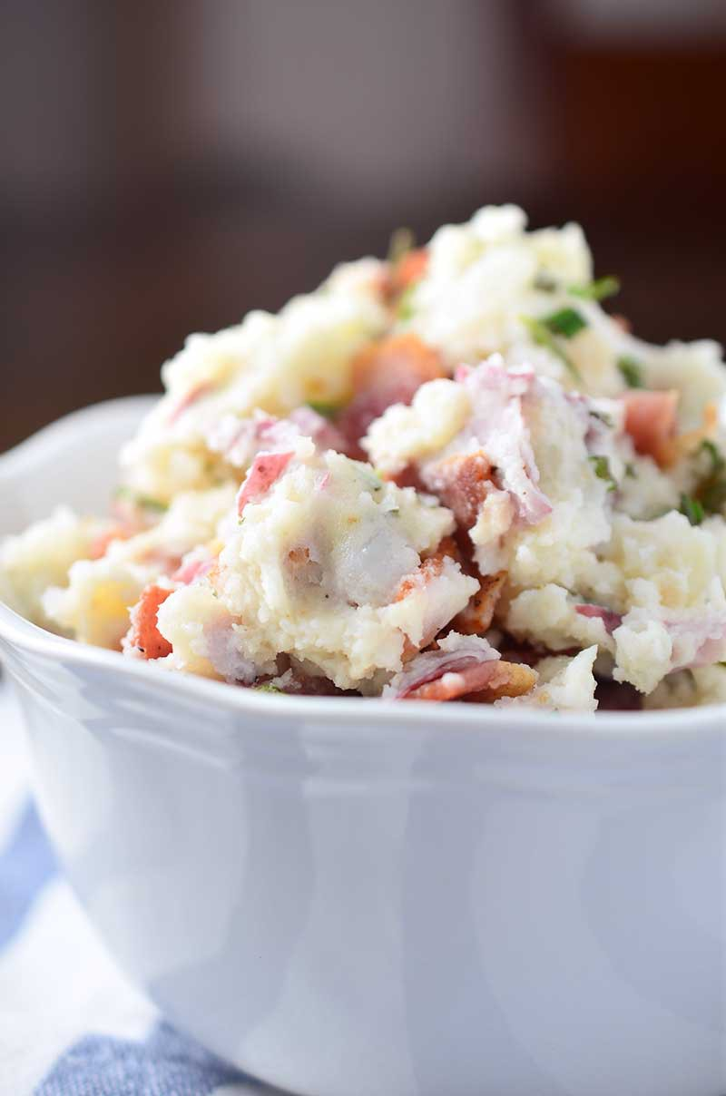 Rosemary Bacon Potato Salad