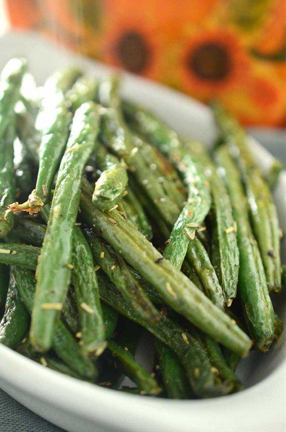 Rosemary Roasted Green Beans