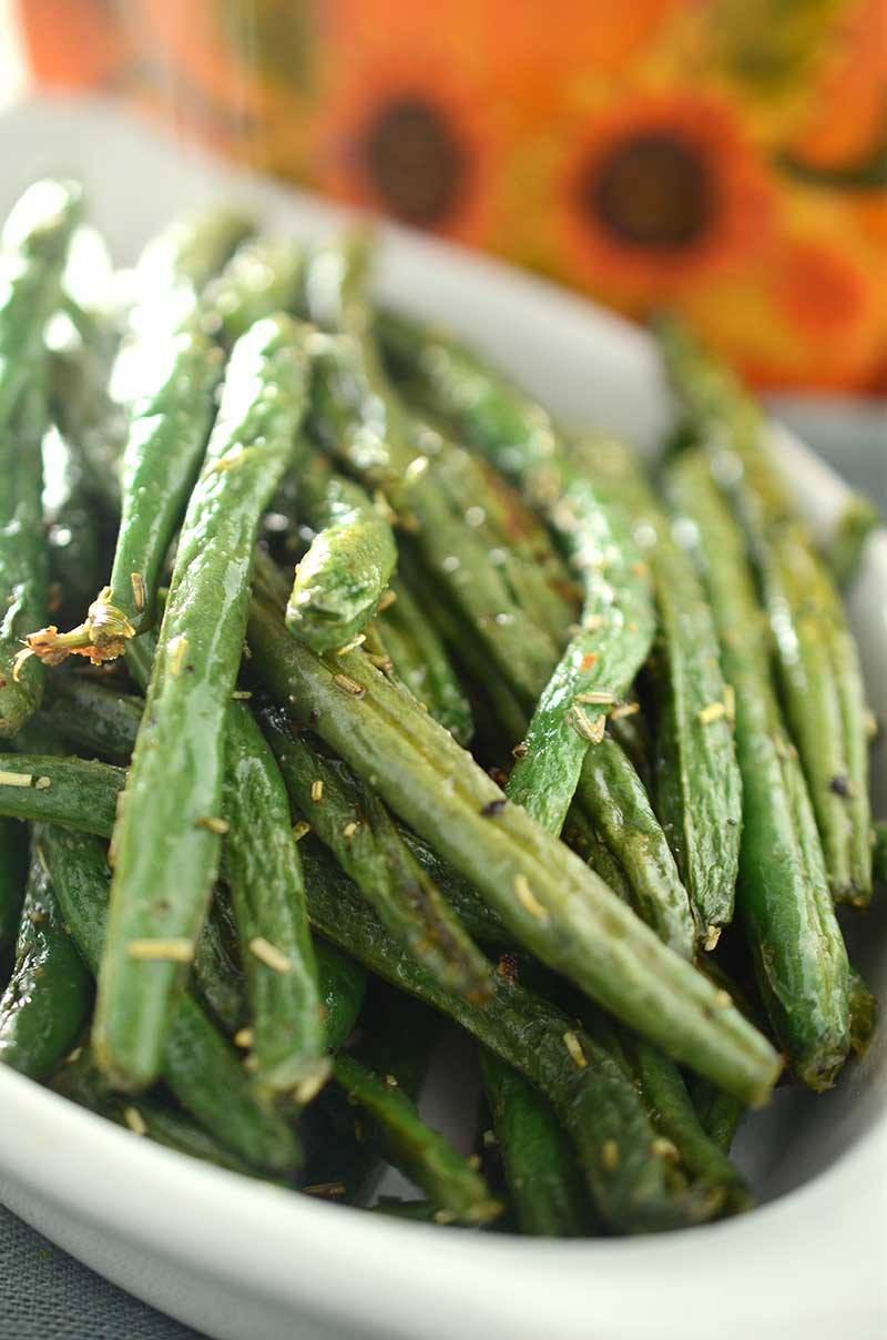 Rosemary Roasted Green Beans