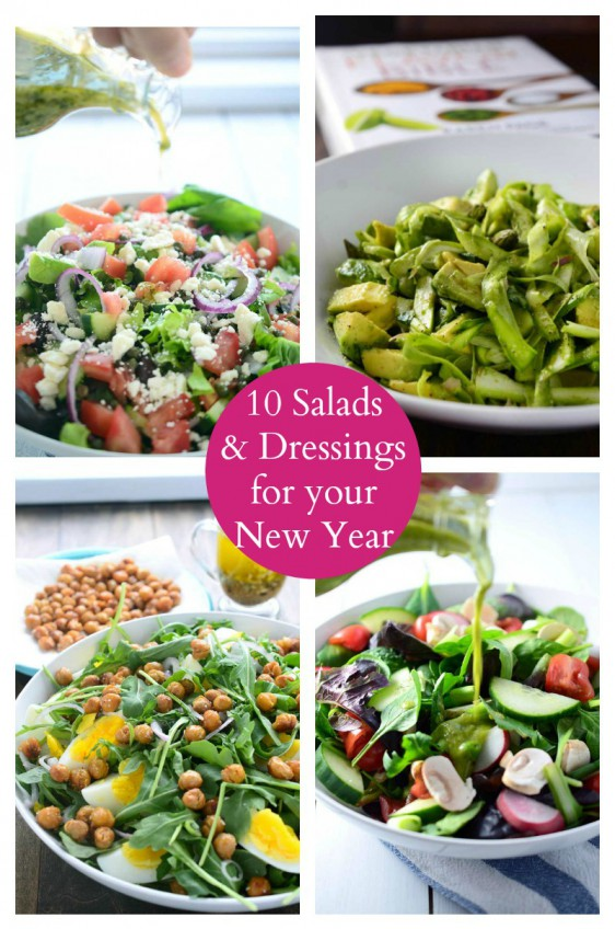 10 Salads and Dressings for the New Year!