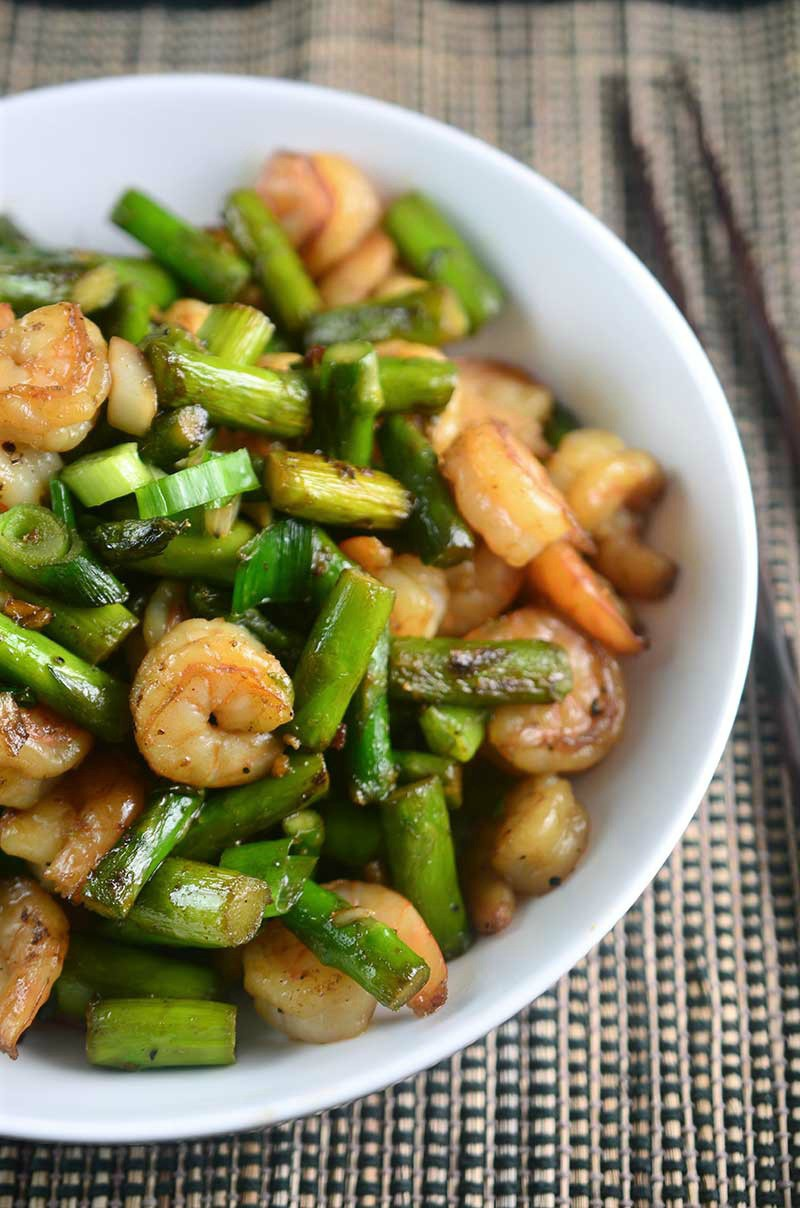 Shrimp And Asparagus Stir Fry Life S Ambrosia