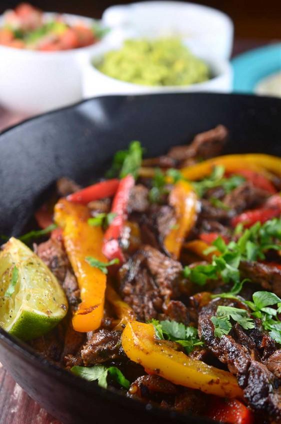 Recipe for Skirt Steak Fajitas - Life's Ambrosia Life's Ambrosia