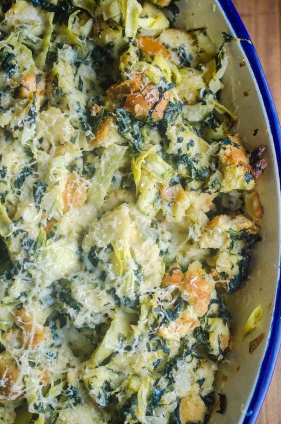 Spinach Artichoke Stuffing