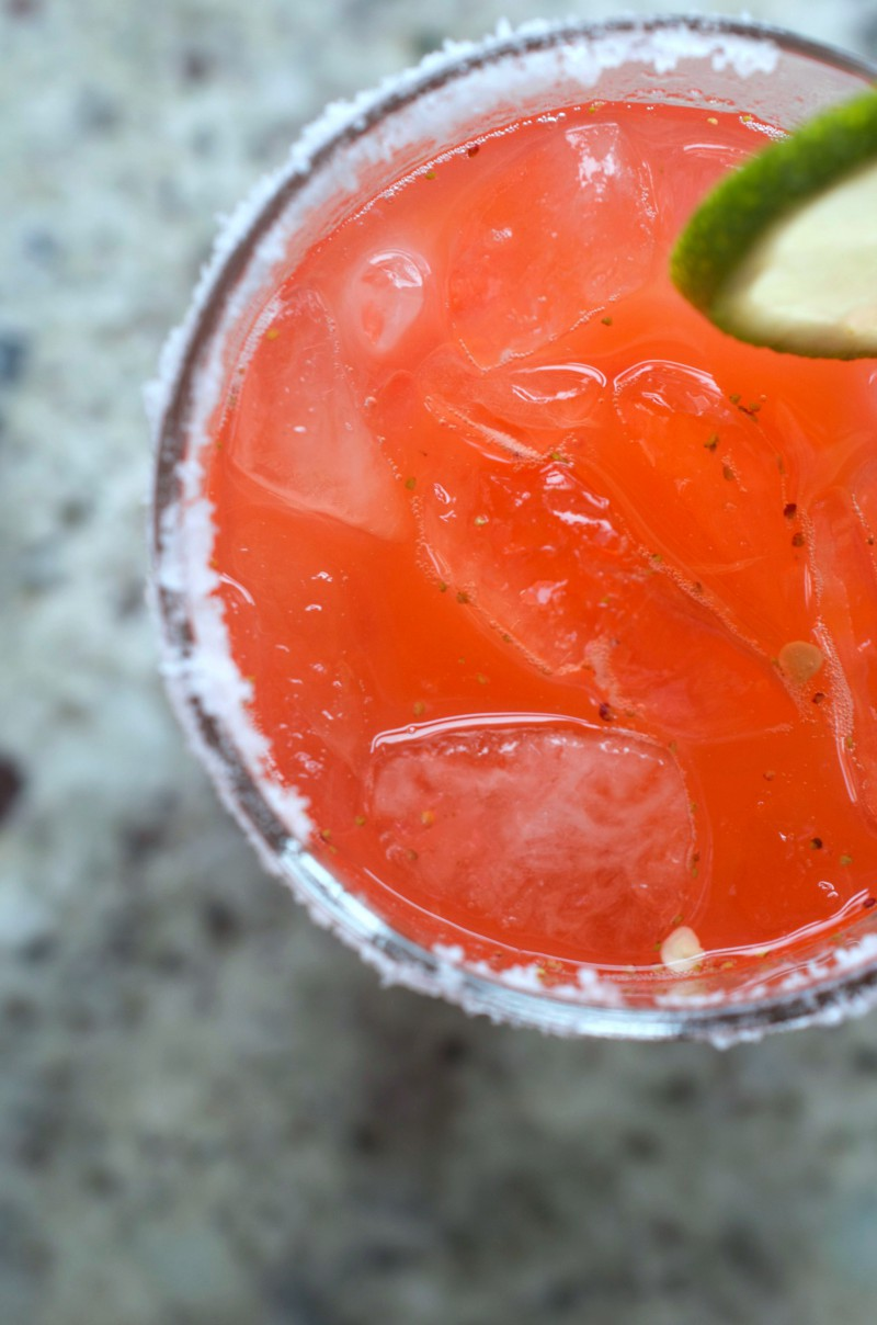 Strawberry Jalapeno Margarita 2