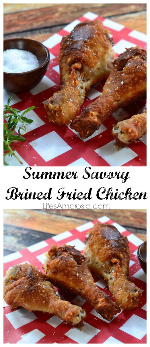 Summer Savory Fried Chicken