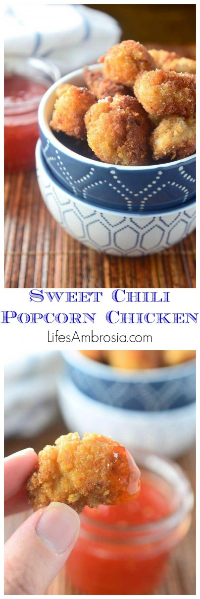 Sweet Chili Popcorn Chicken