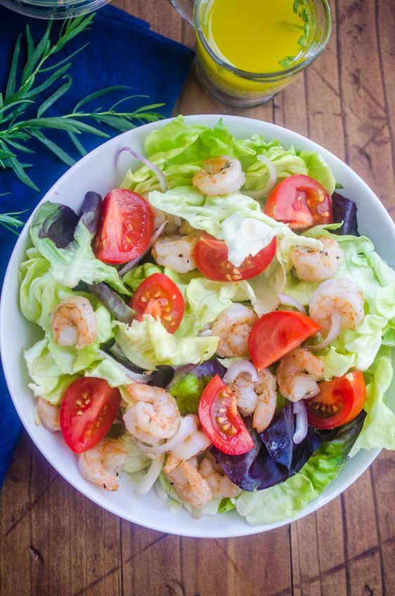 Tarragon Shrimp Salad