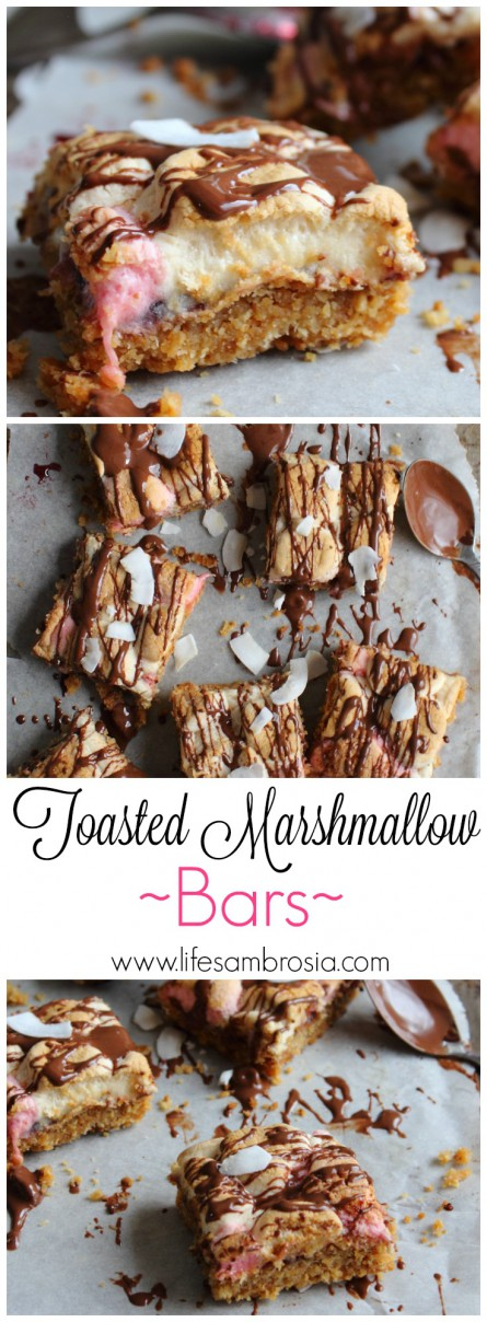 Toasted Marshmallow Bars PINTEREST