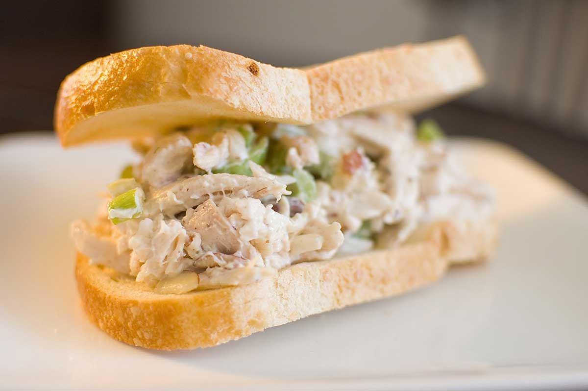 Almond Chicken Salad Sandwich