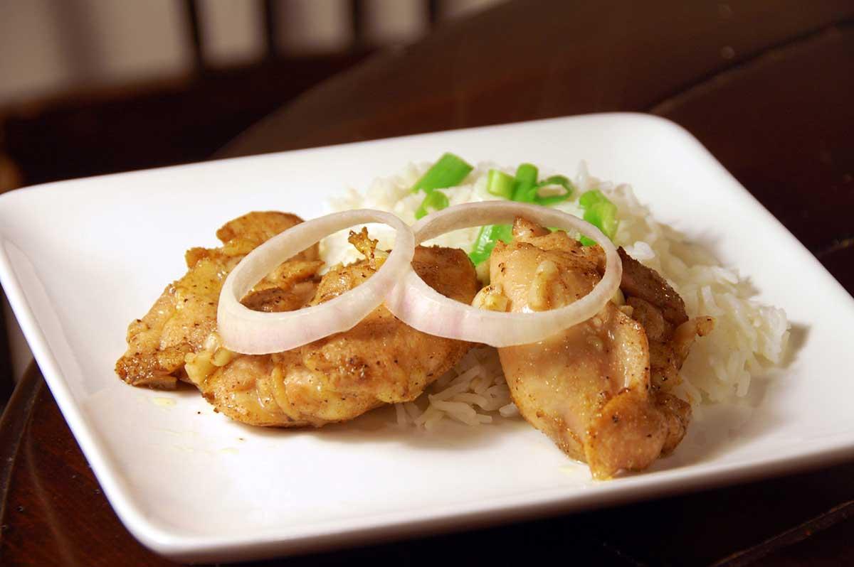 Broiled Masala Chicken