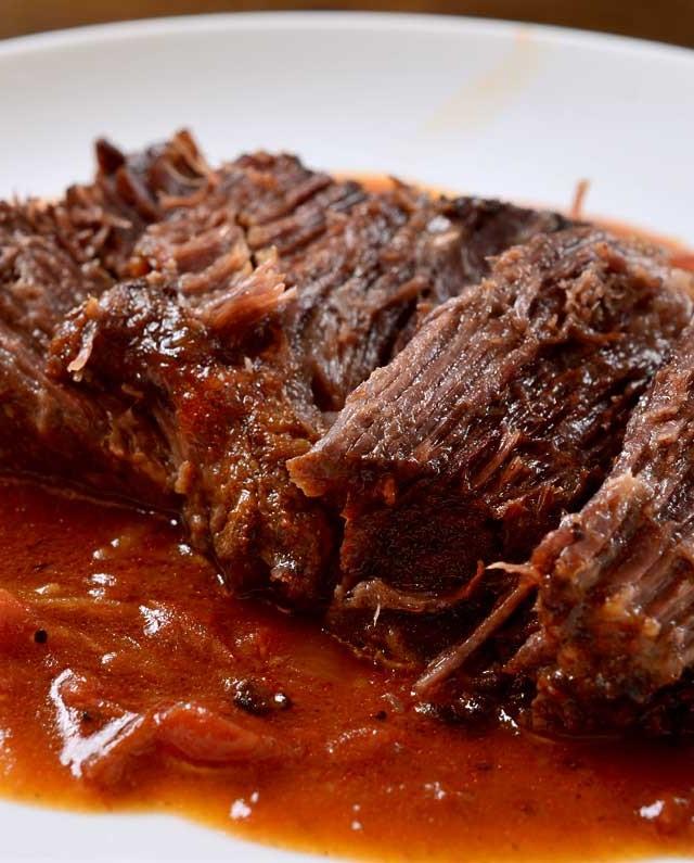 Cajun Pot Roast with Tomato Gravy